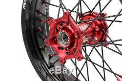 3,517 / 4,2517 Roue Honda Fit Crf450r Crf250r Supermoto Motard Rim Complete