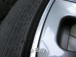 4x Jantes Complètes Pneus D'été À Jante En Aluminium 245275 / 4540r19 5x120 F01 F02 750i 0