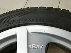 4x Roues Complètes Jantes Aluminium 275 / 40r20 5x130 6.6-6.8mm Cayenne 9pa 955