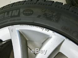 4x Roues Complètes Jantes Aluminium Pneus D'hiver 235 / 45r18 5x108 4.8-5.9mm 508 I 10