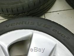 4x Roues Complètes Pneus D'été Jante En Aluminium 215 / 45r17 Prius III 5x100 W3 09-12