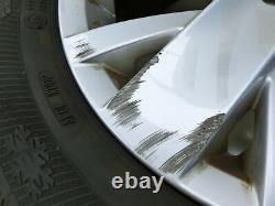4x Roues Complètes Pneus D'hiver À Jante Aluminium 205/55r16 5x112 5.0-7.1mm Golf Plus