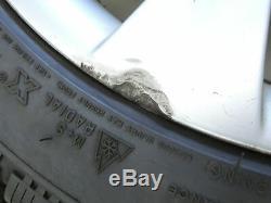 4x Roues Complètes Pneus D'hiver De Jante En Aluminium 245 / 40r18 5x120 5.8-6.2mm 5er E61 5