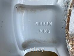 7f100 Jantes Pour Nissan Terrano / Terrano. II (r20) Wa12 157j25 Set Complet