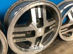 81-85 Mazda Rx7 Complète Jeu De Roues De Jantes De 4 Usine Oem 13x5.5
