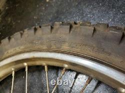 83 Honda Xl185 Xl185s XL 185 S Tambour De Moyeu De Jante Wheel Avant D'origine