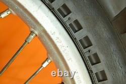85-02 1987 Xr200 Xr 200 Roues Arrière Intégrales Jeu De Roues Hub Rim
