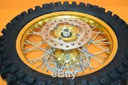 86-19 1994 Rm80 Rm85 Talon Hubs Excel Roue Avant Assemblage Complet Rim Hub Tire