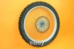 89-95 1994 Rm250 Rm 250 Avant Roue Arrière Ensemble Complet Rim Hub Spokes Tire