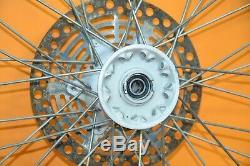 89-98 1993 Rmx250 Rmx Jante Oem Avant Complet Des Pneus Hub Spokes Rotor 21x1.6