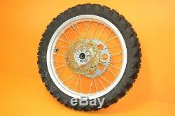 90-97 1991 Kx80 Kx 80 Avant Roues Arrière Ensemble Complet Ensemble Moyeu Rim Big Wheel