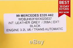 95-02 Mercedes W210 E320 E420 Ensemble De Jante Pour Pneu De Roue Avant Et Arrière Droite Et Gauche A62