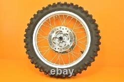 96-02 1997 Cr80 Cr 80 Oem Roues Arrière Avant Complete Set Hub Rim Big Wheel