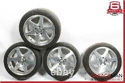 97-00 Mercedes R170 Slk230 Jeu Complet De Jantes De Pneus De 4 Pc 7.5jx17h2 Et37