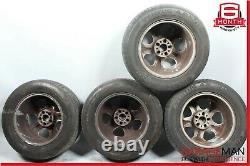98-05 Mercedes W163 Ml320 Complete Front & Rear Wheel Tire Rim Set Oem
