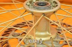 99-02 1999 Kx250 Kx 250 Roues Arrière Avant Complete Set Hub Rim Tire Assembly