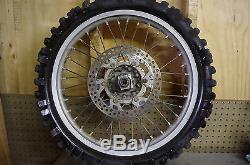 99 Yamaha Yz125 Oem Jante Pneus Arrière Assy Complète Yz 125