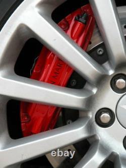 Aston Martin V12 Vanquish Ensemble Complet De Roues En Alliage 4 X Roues & Casquettes Centre
