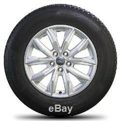 Audi 17 Pouces Jantes Jantes Aluminium Fy Q5 Pneus Hiver Roues Hiver Complètes