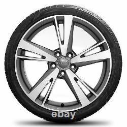 Audi 19 Pouces Jantes Rs3 8v Limousine Blade Pneus D'hiver Complètent Roues D'hiver