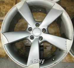 Audi A4, A5, A6, A7, Q5, Q7, Complete Véritable 20 Rotor Roues En Alliage