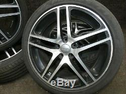 Audi A6 S6 4f C6 Roues Complètes 8x18 Et45 5x112 Jantes D'aluminium Jantes En Alliage Jj