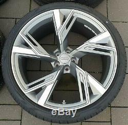 Audi Rs6 Rs7 4k C8 22 Pouces Jantes Roues Complètes Pneus D'été Original