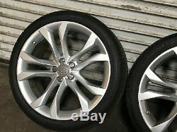 Audi S8 Oem Avant Set Arrière Rim Roues Et Des Pneus 20 Pouces 20 2007 2008 2009 2010