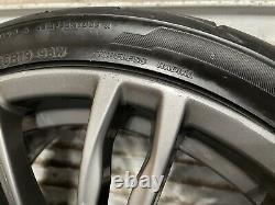 Bmw F10 F11 F12 F13 M5 M6 Traction Arrière Avant Jante Roues 19 Pouces 19 Oem
