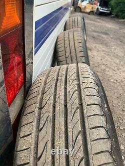 Bmw Mini R50 R56 Rim Complet En Alliage De Roue 4x Avec Pneumatiques 15 5 Bobineur De Démarrage 100