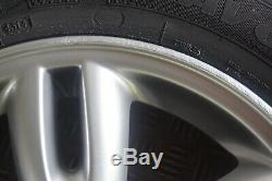 Bmw Mini R56 Complète 4x Roue Jante En Alliage Avec Des Pneus 15 5-star Spoke 118 Lits