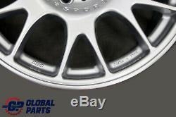 Bmw Motorsport Bbs Argent Ensemble Complet 4x Roue Jante En Alliage 18 8,5j Et35 Via