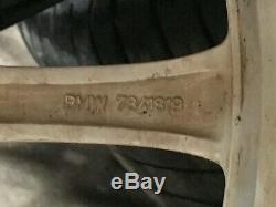 Bmw Oem F01 F02 F10 740 750 760 535 550 Avant Set Arrière Rim Roues Et Des Pneus 19