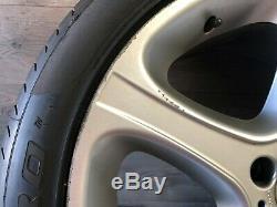 Bmw X5 E53 Oem Roue Jante Et Le Pneu 275 40 20 Pouces 20 2000-2006 20x9 1/2 Style 87