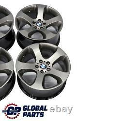 Bmw X5 Série E53 Grey Complete Set 4x Wheel Alloy Rim 19 Star Spoke 132