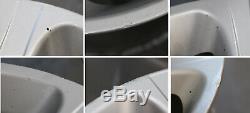 Bmw X5 Série E53 Silver Ensemble Complet 4x Jante En Alliage De Roue 20 Rayons Étoile 87