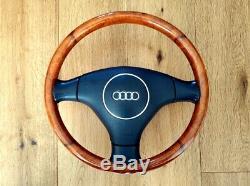 Direction Véritable Rebord De Bois Audi Roue Complète A2 A3 A4 A6 A8
