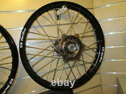 Dubya Complete Wheel Assemblages, Talon Hub Avec D. I. D Dirtstar Rim Fe250/350/450