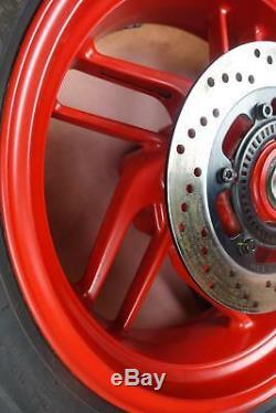 Ducati 959 Panigale 2016-2018 Jantes Complete Pneu Pirelli B121p56