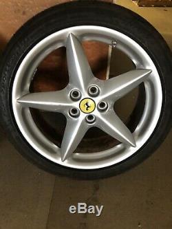 Ferrari 360 Jantes En Alliage, Kit Complet Avec Un Bon 6 MM Pneus Michelins
