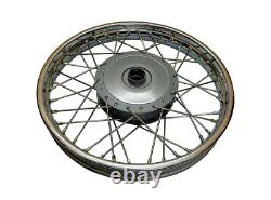 Flambant Neuf Royal Enfield Complete Front & Rear Wheel 19 Pouces