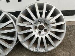 Ford Mondeo Mk2 St St220 Ensemble Complet De 18 Roues En Alliage (15 Rayons) Gris 2s7y