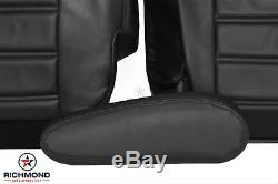 Hummer H2 Roues Chrome 2005 Jantes Sut Garnitures De Siège En Cuir Pour Conducteur, Noir