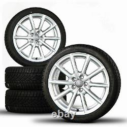Jantes Audi 17 Pouces A1 S1 8x Pneus D'hiver Roues D'hiver Complètes Roues D'hiver