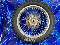 Ktm Complete Rear Wheel Rim Silver Oem Stock Assembly 125-530 18 Pouces