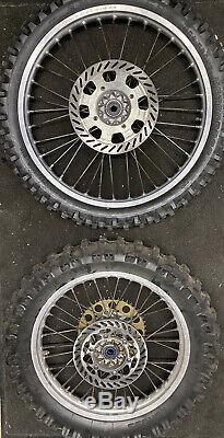 Kx 250 1989 Set De Jantes Rim Complète Kx 125 Kx 500