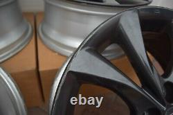 Mazda 3 Roues En Alliage 17 Noir Excellent État Ensemble Complet De 4