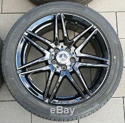 Mercedes Benz Classe V Vito W447 19 Pouces Amg Jantes Roues Complètes D'origine