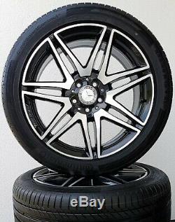 Mercedes Benz Classe V Vito W447 19 Pouces Amg Jantes Roues Complètes Véritable
