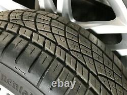 Mercedes Benz W204 Oem C250 C300 C350 Avant Set Arrière Rim Roues Et Pneus 17 08-15